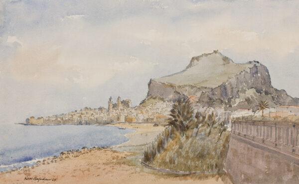 HAGEDORN Karl (1889-1969) - Sicily.