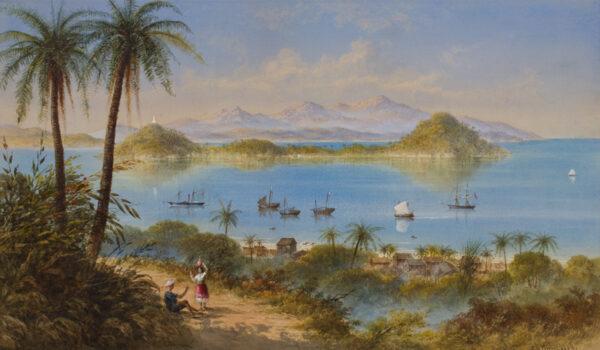 HALL George Lothian (1825-1888) - The Coast of Brazil.