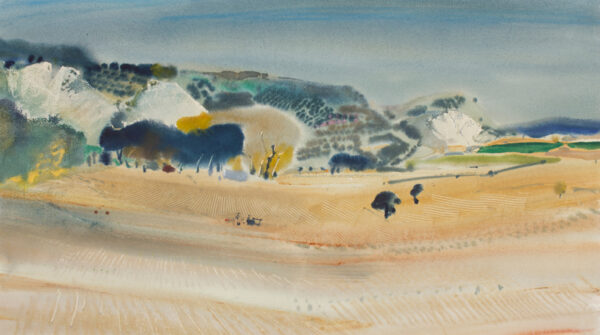 HALL Patrick (1906-1992) - 'Spanish landscape'.