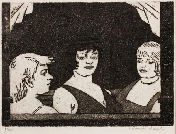 HALL Clifford (1904-1973) - Antwerp window.