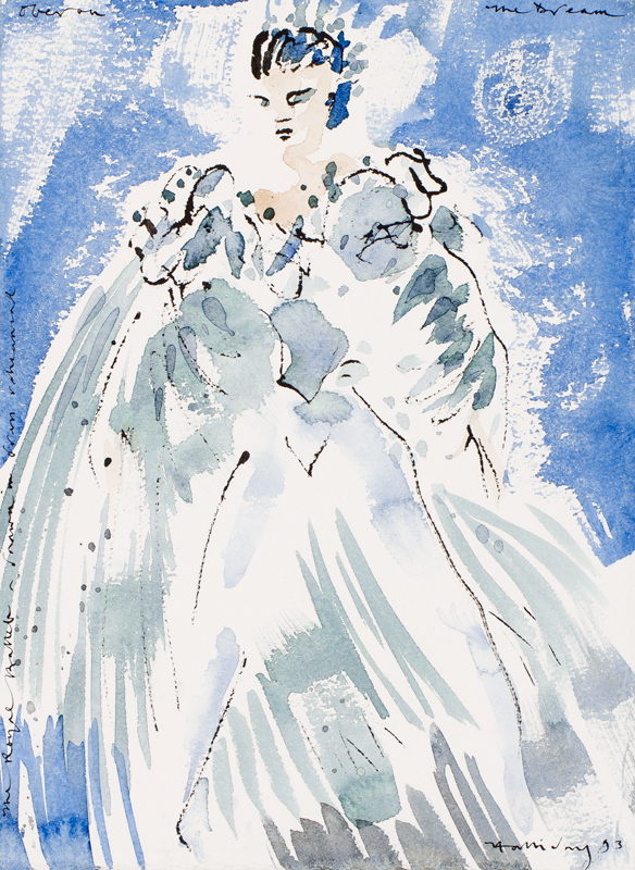 HALLIDAY Alan (b.1952) - 'Oberon – The Dream'.