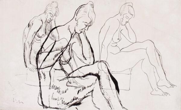 HAMNETT Nina (1890-1956) - Figure studies.