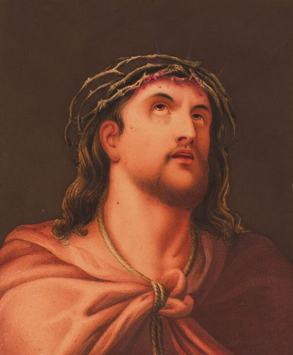 HARDING H (fl.1820s) - 'Christ Rejected / after Guido' Watercolour.