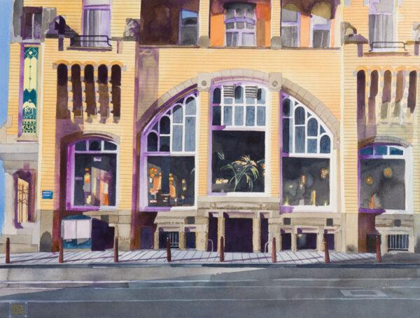 HARTE Glynn Boyd (1948-2003) - Amsterdam: 'The American Hotel'.