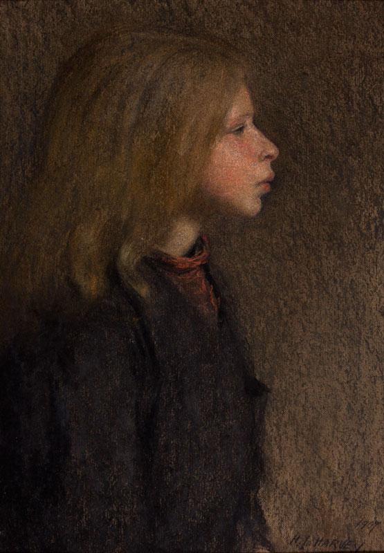 HARVEY Herbert Johnson (1884-1928) - Pastels.