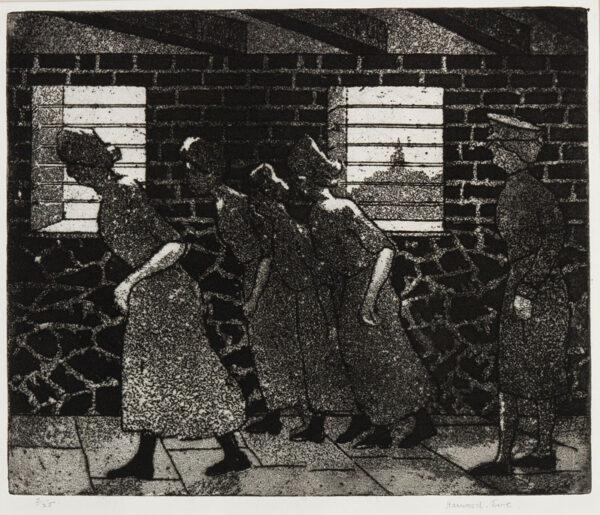 HARWOOD EVE Herbert Frederic (1891-1989) - 'Prisoners'.