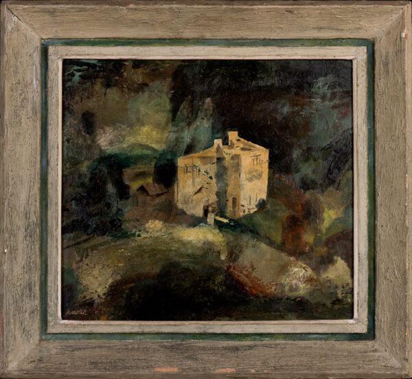 HAWKE Marjorie (1894-1979) - 'House near Bath'.