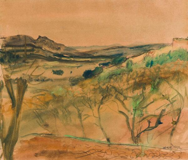 HAYDEN Henri (1883-1970) - French landscape.