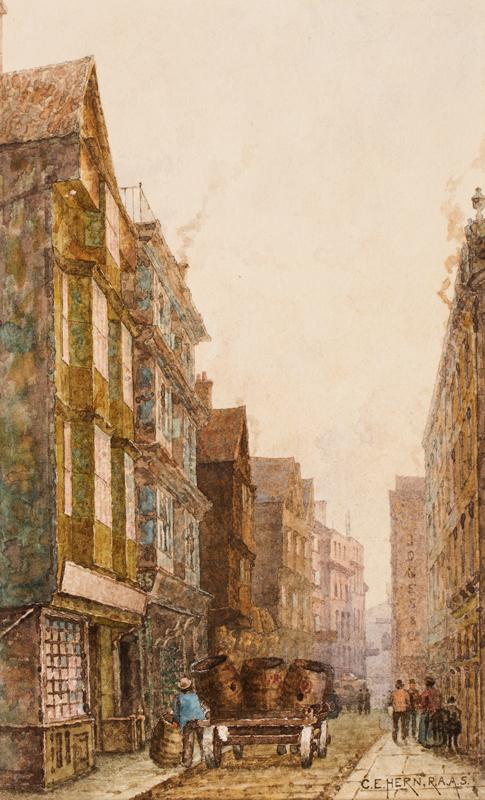 HEARN Charles Edward (1848-1894) - Bristol.