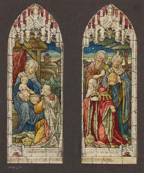 HEATON, BUTLER and BAYNE, Firm of (Founded 1855) - The Visit of the Three Wise Kings.