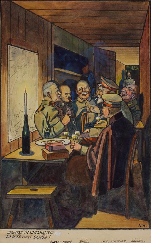 HEIM Albert (b.1890) - WURTTEMBERGERS ON SOMME 1914-1916