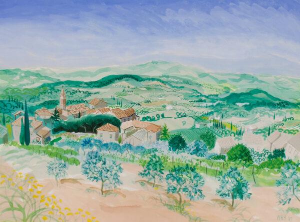 HELY-HUTCHINSON Nicholas (b.1955) - 'San Gusme', Chianti.
