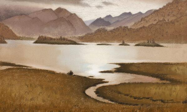 HENDERSON Keith R.W.S. (1883-1982) - 'Loch Leven, December'.