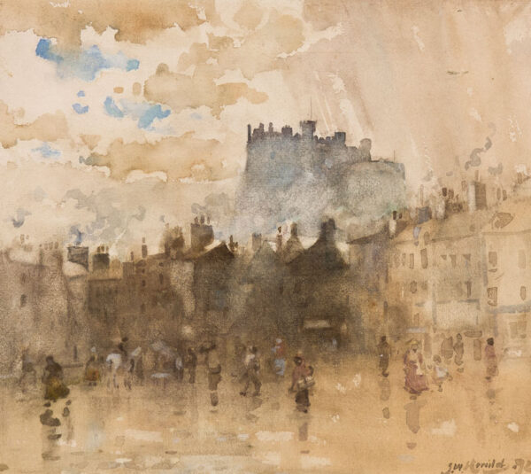 HERALD James Watterson (1859-1914) - 'Sunshine and showers'.