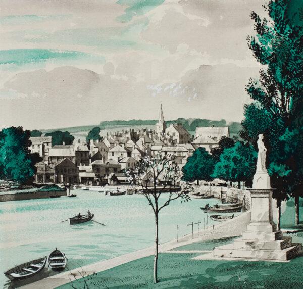 HILDER Rowland O.B.E. P.R.I. (1907-1993) - Devon.