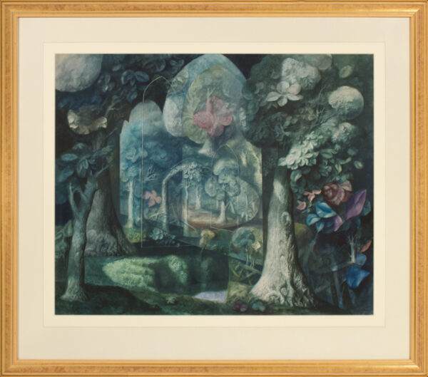 HITCHCOCK Harold (1914-2009) - 'The Forest Cathedral'.