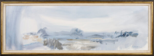 HITCHENS John (b.1940) - 'Blue Grey Evening'.