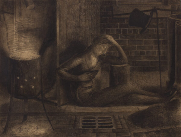 HODGSON Louisa (1877-1909) - 'Keats…Ode to a nightingale'.