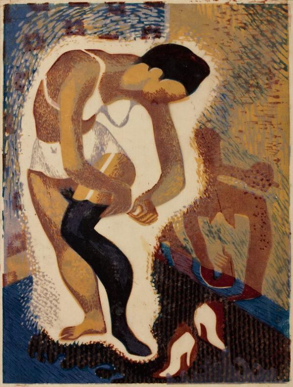 HOLLAND Dudley (1915-1956) - Dressing.
