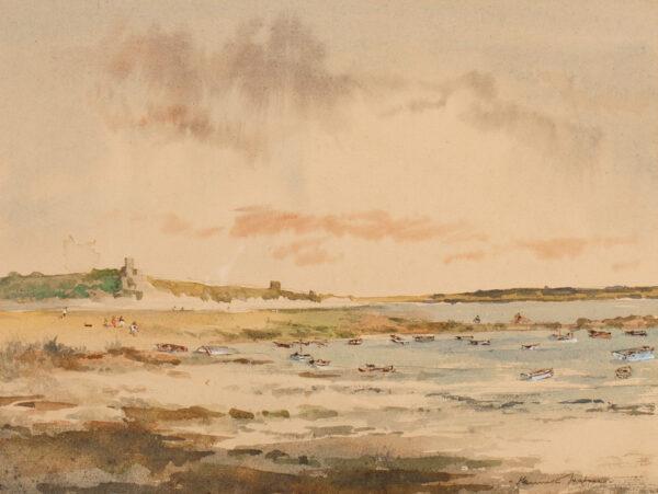 HOLMES Kenneth (b.1902) - A Scottish estuary.