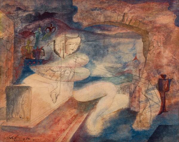 HURRY Leslie (1909-1978) - 'Sappho'.