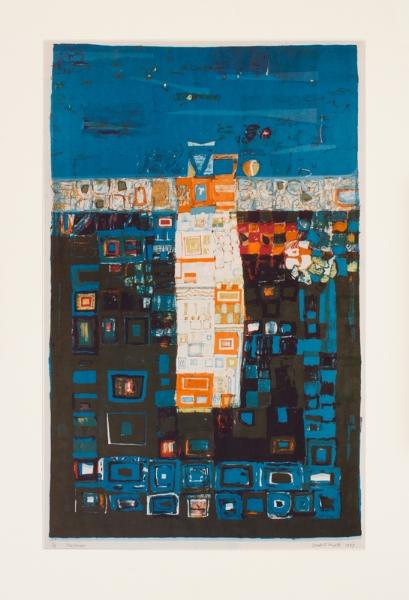 HYATT Derek (1931-2015) - 'Sea Tower'.