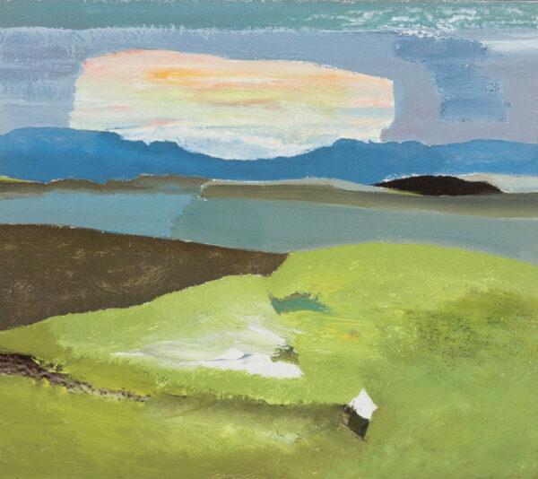 HYATT Derek (1931-2015) - 'Iridescent Cloud'.