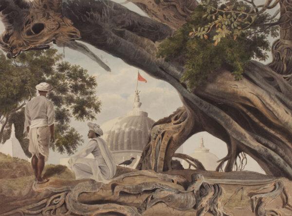 INDIA (Subject) Anon. Circa 1820. - Six watercolours of Bhojpur.