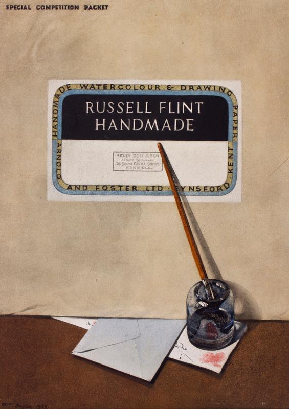 INGLIS William (Exh.1910-1940) - Trompe l'oeil.