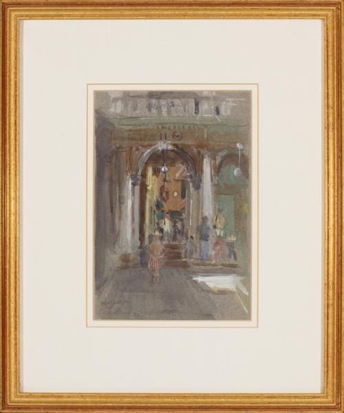 JACKSON Mary N.E.A.C. (b.1936) - Venice.