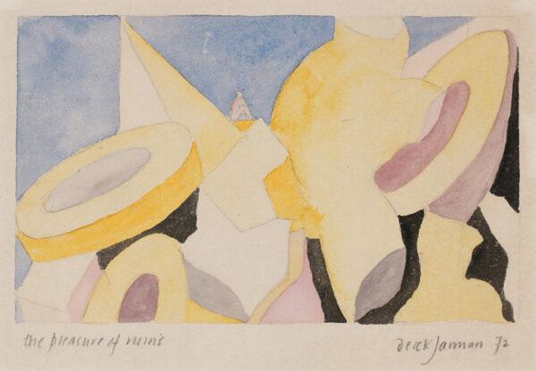 JARMAN Derek (1942-1994) - 'The Pleasure of Ruins'.