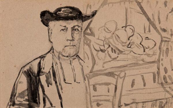 JOHN Gwen (1876-1939) - 'Votre Eveque / Mgr Gilier / Juillet 29 / (19)29'.