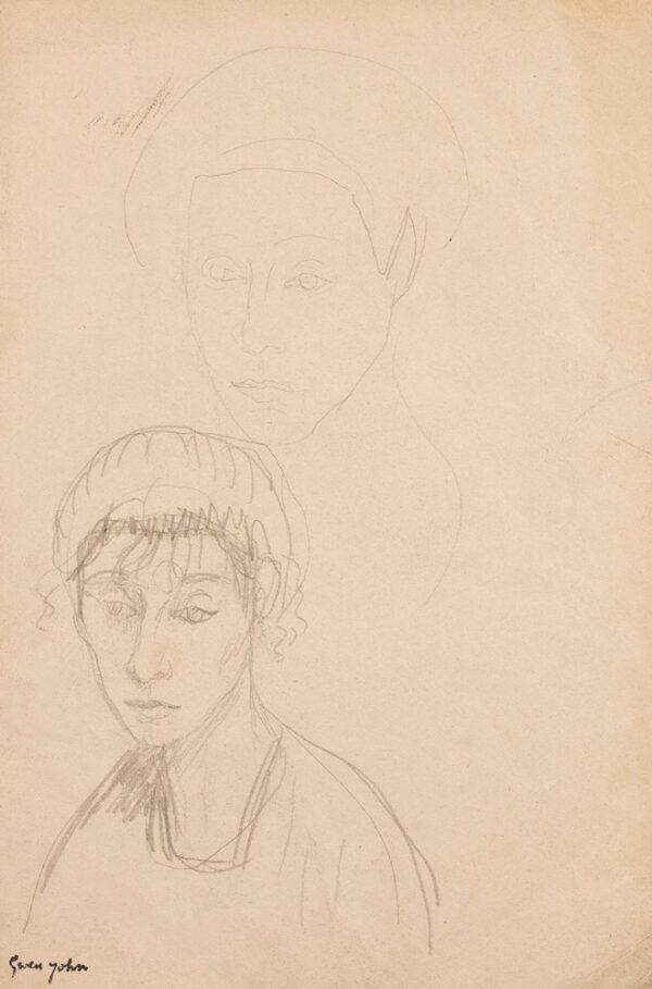 JOHN Gwen (1876-1939) - 'Chloe Boughton-Leigh'.