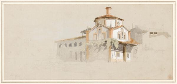 JOHNSON Harry John (1826-1884) - 'Lugano'.