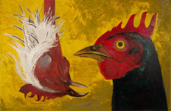 JONES Barbara (1912-1978) - 'One Hen Up, One Hen Down'.