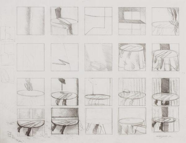 JONES Allen R.A. (b.1937) - Studies for a painting.