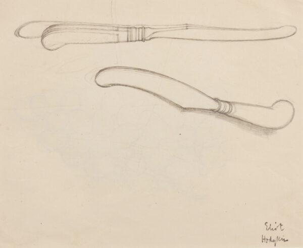 HODGKIN Eliot (1905-1987) - Pencil.