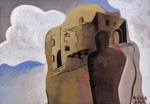 KADAR Bela (1877-1955) - 'Dream City'.