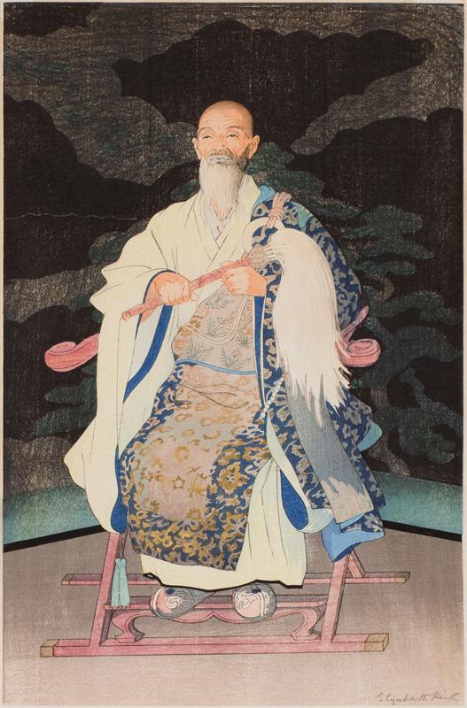 KEITH Elizabeth (1887-1956) - 'Korean Scholar'.