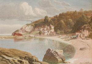 KELLY Samuel Edward (1862-1935) - Devon.