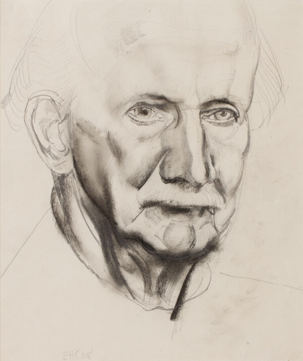 KENNINGTON Eric R.A. (1888-1960) - 'Tom Anderson Bowhay', the philosopher.