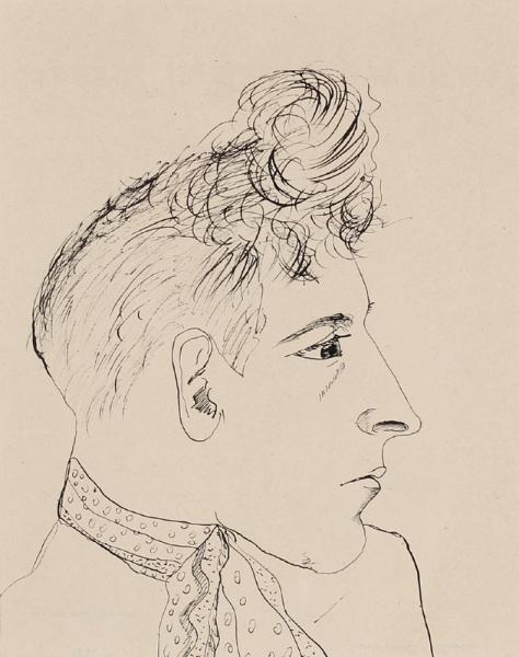 KHILL Marcel (1912-1940) - (Mustafa Marcel Belkacem) 'Jean Cocteau'.