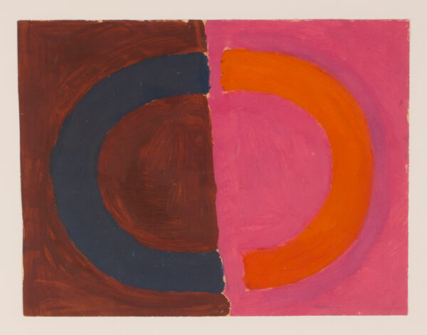 KIDNER Michael R.A. (1917-2009) - 'Circle after Image'.