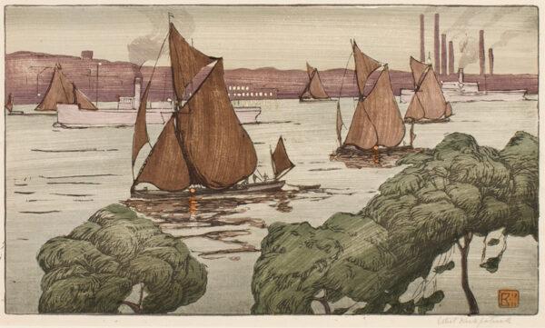 KIRKPATRICK Ethel C.W.S. (1869-1966) - The River Thames.