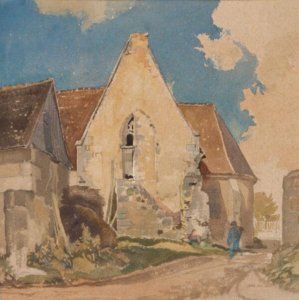 KNIGHT Charles R.W.S. (1901-1990) - France.