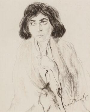 KRAMER Jacob (1892-1962) - Sarah, the artist's sister.