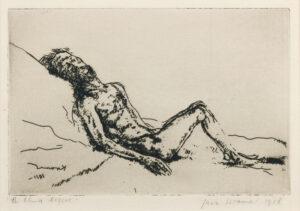 KRAMER Jacob (1892-1962) - 'The blind beggar'.