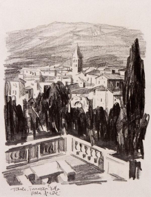 KRUTSCHKOFF Dimitri (fl.1920s) - Rome.
