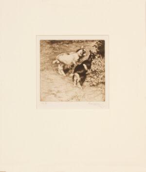 KUSEL Ernst (1873-1942) - 'Kids' .
