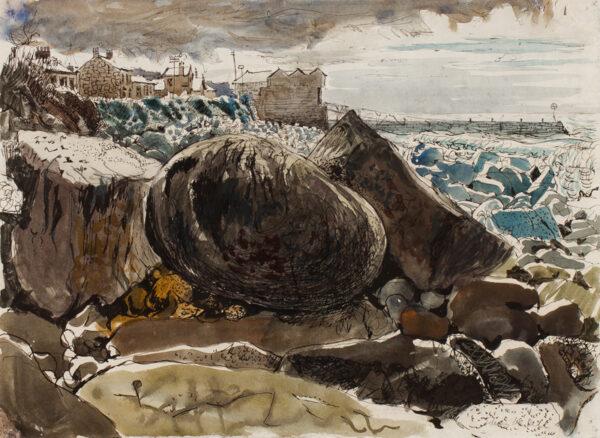 LADELL Edwin (1914-1970) - 'Sennen Cove'.